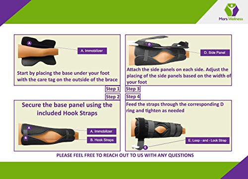 8b3fe06d72 Tri-Panel Knee Immobilizer Brace - Rigid Support for Post Surgery - Universal  24