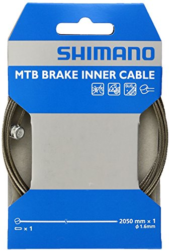 시마노 (SHIMANO) MTB 용 SUS 브레이크 이너 케이블 2050mm × φ1.6mm Y80098210