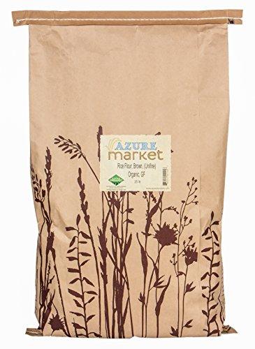organic brown rice 25 pounds - 7