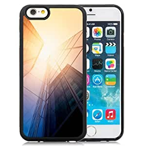 NEW Unique Custom Designed iPhone 6 4.7 Inch TPU Phone Case With Tall Glass Offices Sunlight_Black Phone Case