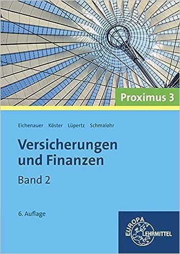 Versicherungen Und Finanzen Proximus 3 Band 2 9783808577172