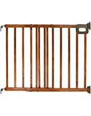 Summer Infant Stylish and Secure Deluxe Wood Stairway Gate, NA, 1-Pack