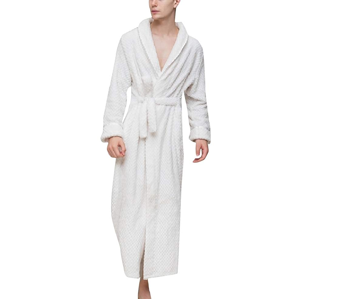 YUNY Mens Flannel His and Her Warm Comfort Pajama Lounge Set