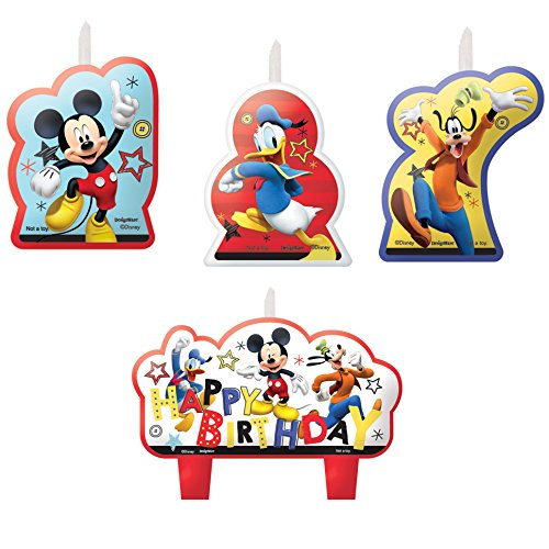 Mickey Mouse Party Supplies On The Go Candles
