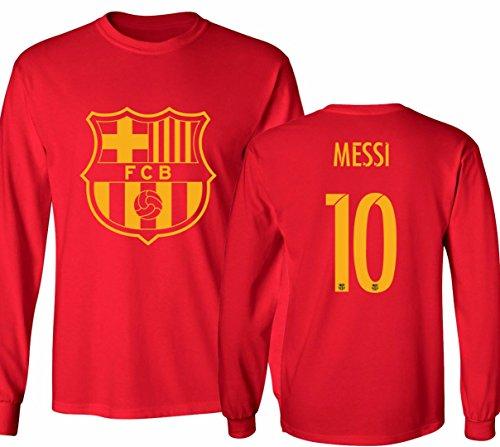 Barcelona Soccer Shirt Lionel Messi #10 Futbol Jersey Youth