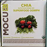 Mocu Chia Superfood Oomph Nutritious Drink Mix 5 Ct (Pack of 2)