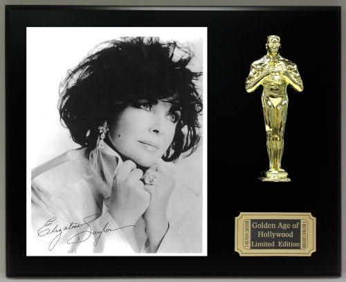 Elizabeth Taylor Reproduction Autographed 8 x 10 Photo LTD Edition Oscar Movie - Outlets Elizabeth