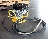6HP Gas Powered Concrete Vibrator w/ 18Ft Flexible Hose & Swivel Base EPA
