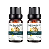 Kasien Hair Growth Liquid, Natural Ginger Hair Growth Essence liquid Fast Hair Growth Natural Hair Loss Treatment (2 Pcs)