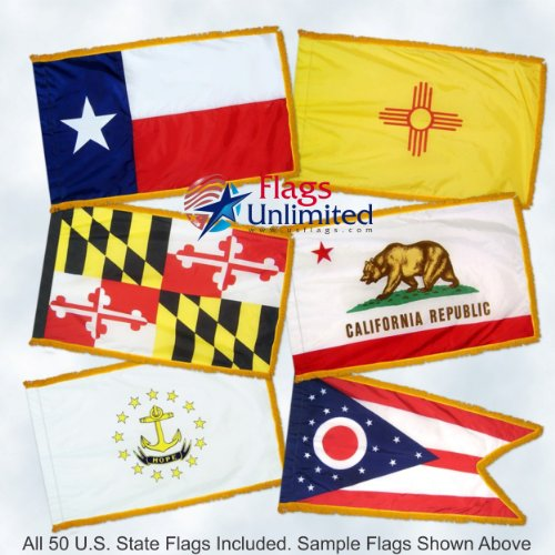 50 State Flag Set 3ft x 5ft Flags Nylon Material -Flags Have
