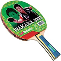 Butterfly Wakaba Table Tennis Racket - ITTF Approved Ping Pong Paddle - Attack with Speed and Spin Ping Pong Racket