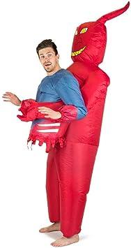 Bodysocks Fancy Dress Disfraz Hinchable de Diablo para Adultos ...