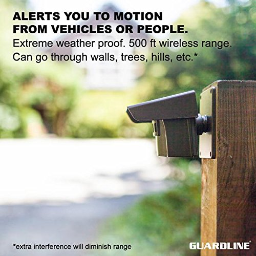 Buy wireless outdoor motion detector alarm