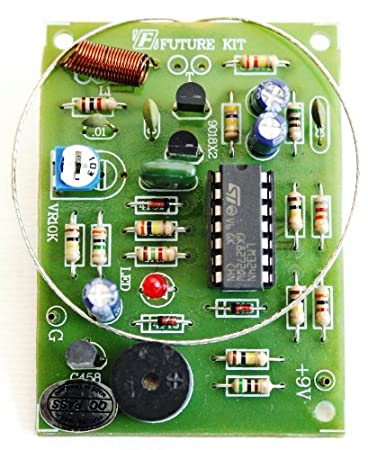 Amazon touch switch with alarm door knob project diy electronic touch switch with alarm door knob project diy electronic circuit kit 9vdc fa507 publicscrutiny Choice Image