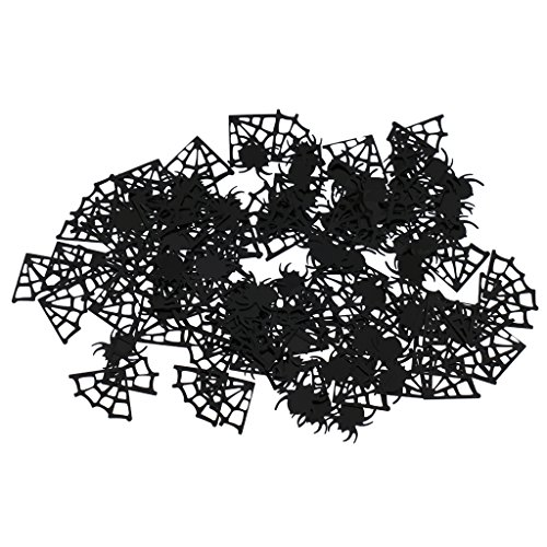 MonkeyJack Spider Webs Spider Table Scatter Halloween Party Confetti Fun Accessories