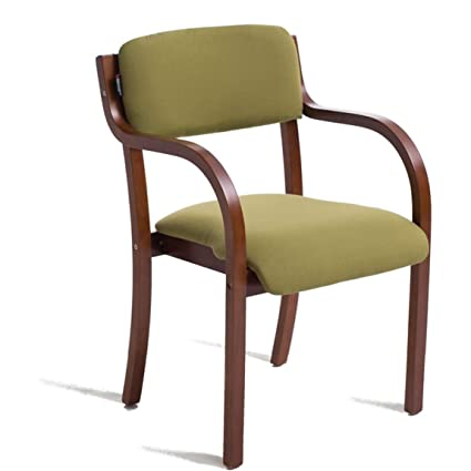 Amazon.com: Carl Artbay Solid Wooden Dining Chair Modern ...