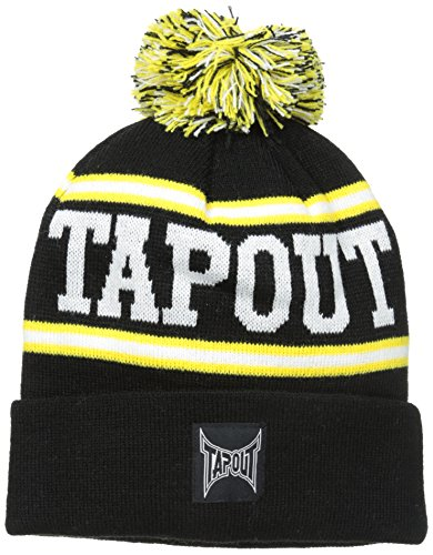 concept-one-little-boys-tapout-cuff-pom-beanie-black-one-size