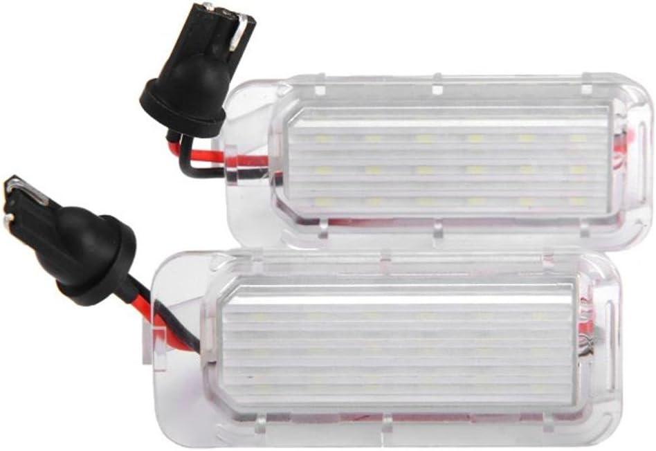 starnearby 2/LED hinten Nummernschild Lichter f/ür Ford Fiesta Focus Kuga Mondeo