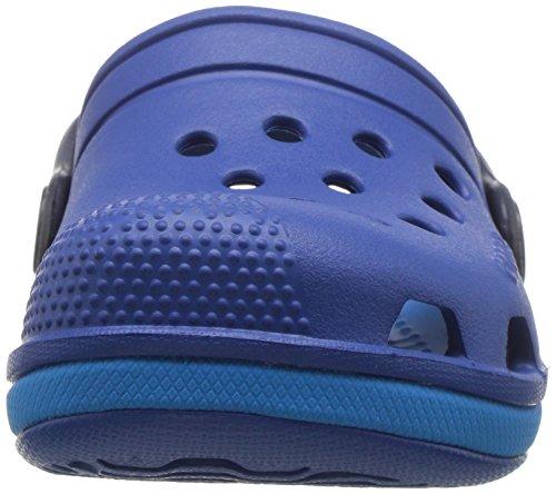 Iii Crocs Kids Clog Unisex Azul Zuecos blue Electro ocean Niños Jean x1566Tw7q