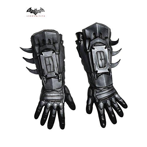 [Rubie's Costume Men's Arkham City Deluxe Batman Gloves, Black, One Size] (Teen Costumes Party City)