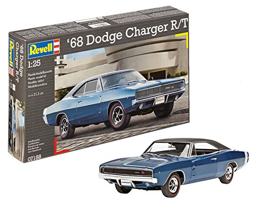 1:25 Revell 1968 2 In 1 Dodge Charger