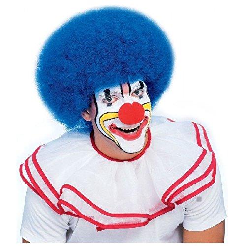 Clown Wig Adult Big Afro Circus Halloween Costume Fancy Dress