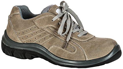 Seba 575EG Langsame Schuh S1P SRC, Beige, Größe 42