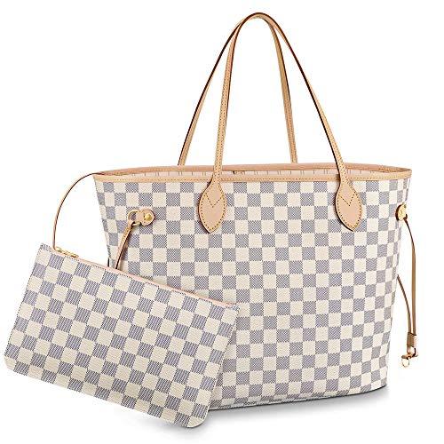 SHRJJ Fashion 3D Printing Letters Ladies Handbags Portable Old Flower PU Handbags Mummy Bag Large Capacity Shoulder Bag 2 Sets