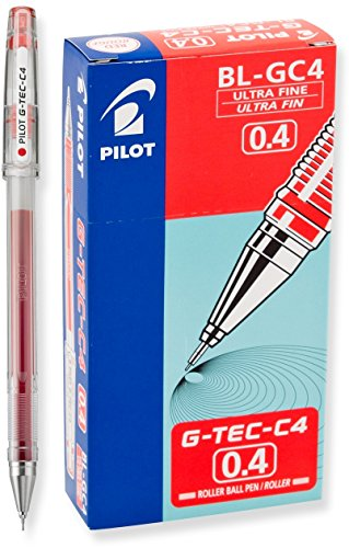 lling Ball Pens, Ultra Fine Point, Red Ink, Dozen Box (35493) ()