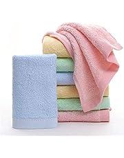 Toallas bambu bebe, toallasparalacaradel lavables y suave, 10x10 pulgadas (paquete de 12)