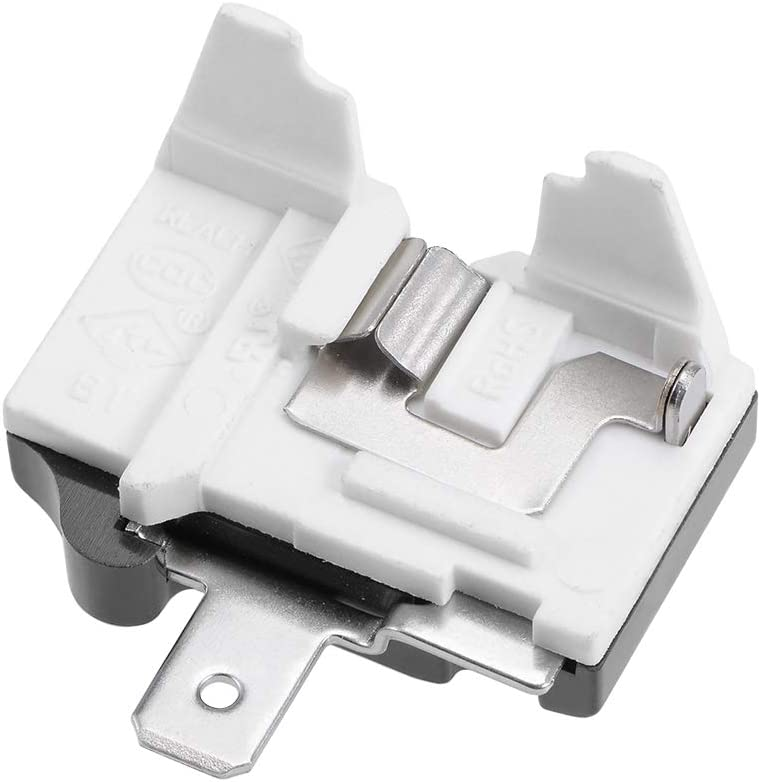 uxcell Refrigerator Thermal Overload Protector 1/4HP 180W Freezer Compressor Replacement Part