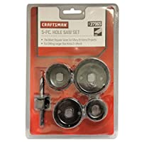 Craftsman 5 pc Hole Saw Set Deals
