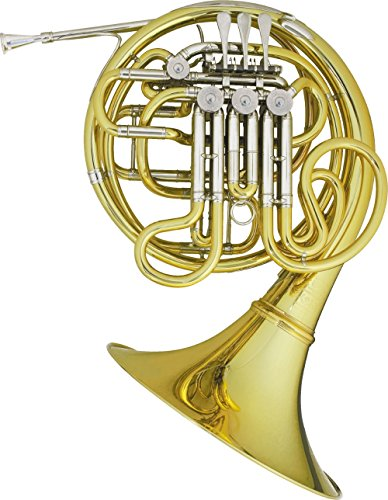Hans Hoyer Heritage 6802 Bb/F Double French Horn String Mechanism Lacquer by Hans Hoyer