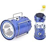 SaleOn Lantern LED Solar Emergency Light Bulb With Mobile Charging Facility-023 (Blue)
