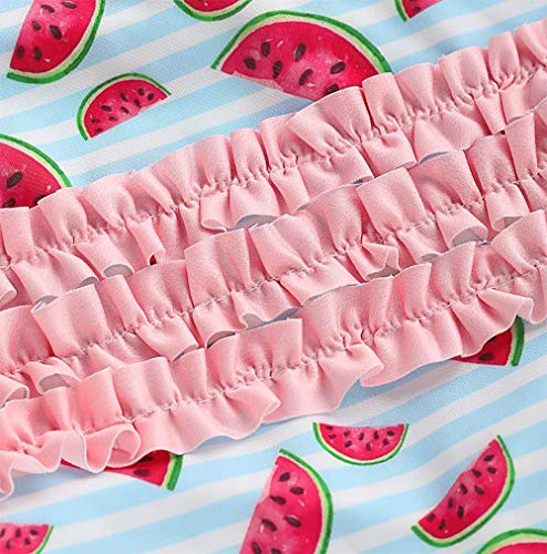LAMOSKY Toddler//Baby Girls Watermelon Printed Swimsuits One Piece Infant Bathing Suits