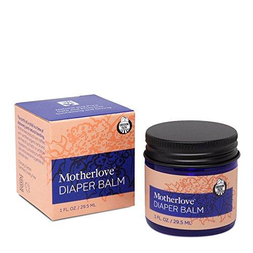 Motherlove Diaper Balm for Persistent Diaper Rash, 1 oz Jar