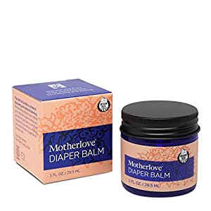 Motherlove Diaper Balm for Persistent Diaper Rash, 1 oz Jar