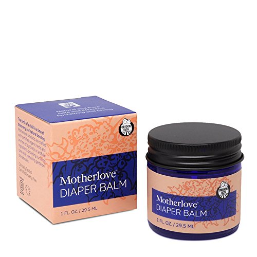 Motherlove Organic Diaper Balm for Persistent Diaper Rash, 1 Ounce Jar