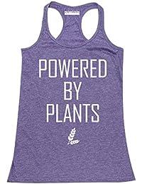 Powered by Plants Funny Vegan Women's Tank Top