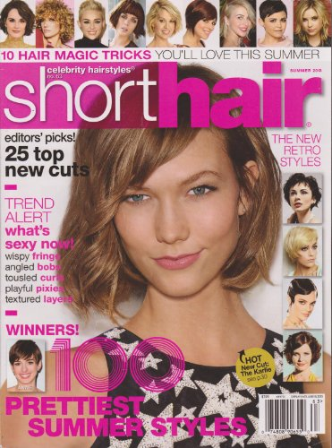 Celebrity Hairstyles Magazine (#63) (Summer 2013 (Short Hair)) (Magazine Hair Styles Celebrity)