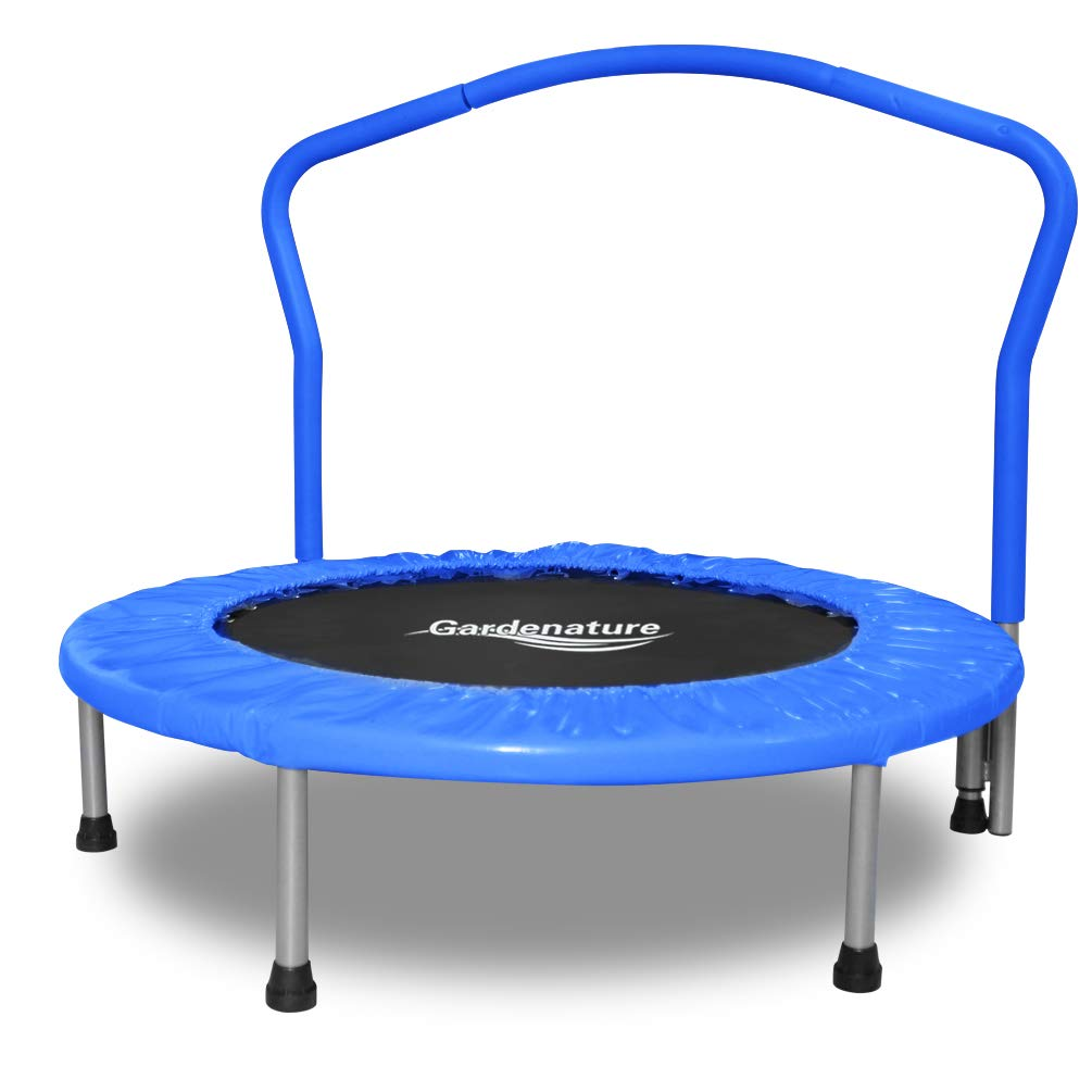 Gardenature Trampoline-36 Portable Trampoline for Kids-Blue by Gardenature