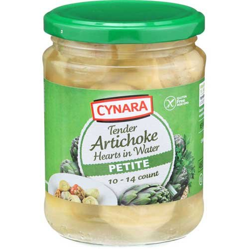 Cynara Petite Whole Artichoke Hearts, 14.75 Ounce -- 6 per case. Frozen Artichoke Hearts