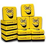 Premium Dry Erase Eraser Set of (12) with EzErase Felt (TM) for Cleaning Whiteboard Pens and Markers off White Boards at Home - Office & School - from ItemMax