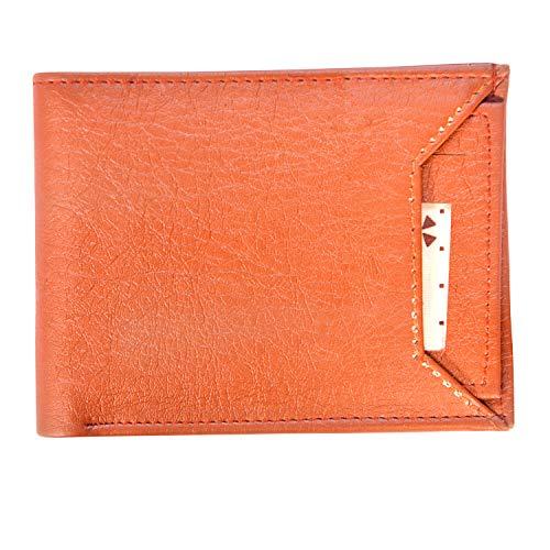 Tulip Tan Leather Men's Wallet