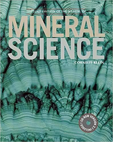 Danas Textbook Of Mineralogy Pdf