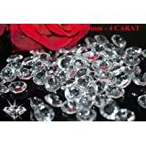500 Clear Wedding Table Scatter Crystals Diamond Decoration (10mm - 4 Carat)