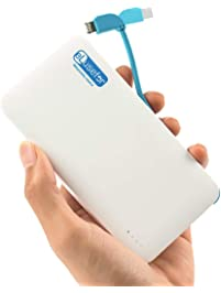 eLusefor Ultra-Portable Wallet Charger: Ultimate Power Bank for Apple iPhones & Bluetooth Accessories | Slim External...