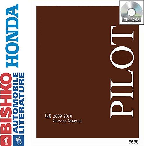 bishko automotive literature - Shop Service Repair Manual CD Engine Drivetrain Wiring OEM for The 2009 2010 Honda Pilot