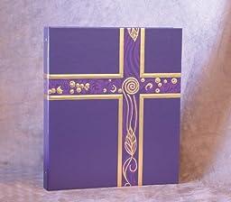 Ceremonial Binder - Violet/Gold