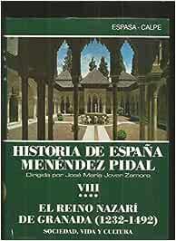 Historia de España 8.IV: Amazon.es: Menendez Pidal, Ramon: Libros